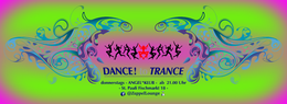 Party Flyer DANCE to TRANCE 7 Mar '19, 21:00