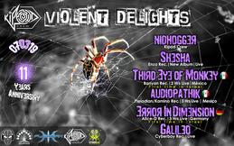 Party Flyer ◄·Kipod Crew·◄►·Violent DelighTs·► 7 Mar '19, 23:30