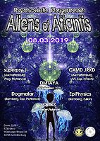 Party Flyer Psychedelic Playground: Aliens of Atlantis 8 Mar '19, 22:00