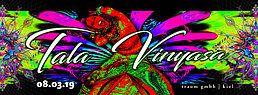 Party Flyer Tala Vinyasa - Koxbox live 8 Mar '19, 23:00