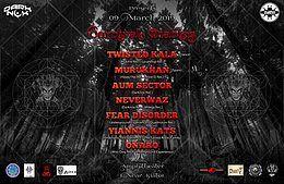 Party Flyer Carnival Diablos 9 Mar '19, 19:00