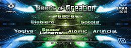 Party Flyer Harmonic Vision presents: Seeds of Creation 9 Mar '19, 23:00