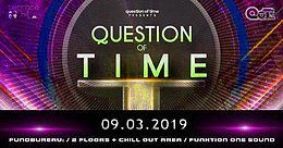 Party Flyer QUESTION OF TIME 9 Mar '19, 22:00
