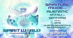 Party Flyer Spirit World // A Psychedelic Awakening 9 Mar '19, 23:00