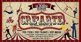 Party Flyer Cre´Arte: Special 3rdvEdition (Granada,Spain) 15 Mar '19, 23:30