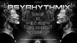 Party Flyer Psyrhythmix – Psytrance Adventure 15 Mar '19, 23:00