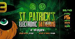 Party Flyer St. Patrick's Electronic Gathering 15 Mar '19, 21:00
