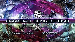Party Flyer CANARIAN CONNECTIONS 2019 - ATLANTIS TRIBE+ DREAM PROJECT 16 Mar '19, 22:00