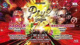 Party Flyer PSY STATION 2 / XAOC-X / BROJANOWSKI 16 Mar '19, 21:00