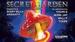 Party Flyer Secret Garden w/ EX Labyrinth DJs 16 Mar '19, 23:00