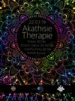Party Flyer Akathisie Therapie 22 Mar '19, 20:00