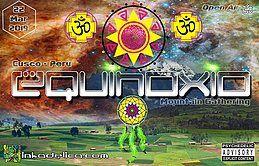 Party Flyer Equinoxio - Mountain Gathering 22 Mar '19, 17:00