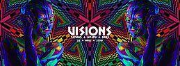 Party Flyer Visions / Techno & Hitech, Darkpsy |5€ bis 0 Uhr 22 Mar '19, 22:00
