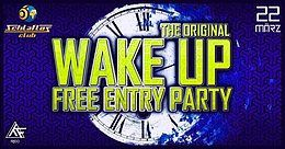 Party Flyer ☆*Wake Up*☆ Zelda live / Pected Live / Narxz live / Phazed live 22 Mar '19, 22:00