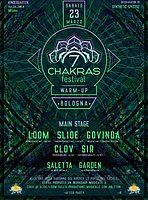 Party Flyer 7 Chakras Warm Up Bologna + after 23 Mar '19, 21:00