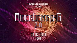 Party Flyer Blacklightning 2.0 ✫ Blacklite Records Label 23 Mar '19, 22:00