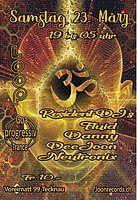 Party Flyer Proggi Goa Trance 23 Mar '19, 19:00