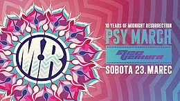 Party Flyer Psy March with Ace Ventura - 10 years of MR 23 Mar '19, 22:00