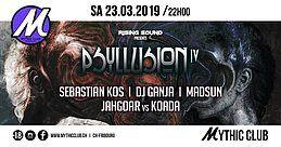 Party Flyer Psyllusion #4 23 Mar '19, 22:00