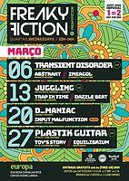 Party Flyer FREAKY FICTION 27 Mar '19, 23:00