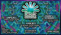 Party Flyer 15 Years Suntrip Anniversary   Romanian edition 29 Mar '19, 23:00