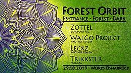 Party Flyer Forest Orbit 29 Mar '19, 23:00