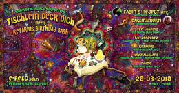 Party Flyer Tischlein deck dich meet's Ketarius birthday bash 29 Mar '19, 23:00