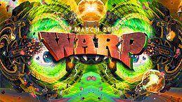 Party Flyer Warp! w/ Outsiders 29 Mar '19, 23:00