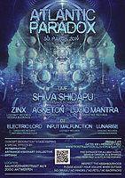 Party Flyer ATLANTIC PARADOX with Shiva Shidapu 30 Mar '19, 23:00