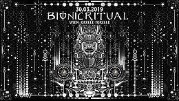 Party Flyer Bionic Ritual w/ Arjuna Live & Antonymous Live 30 Mar '19, 23:00