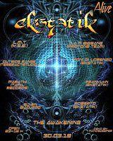 Party Flyer Ekstatik Alive The Awakening 30 Mar '19, 23:00