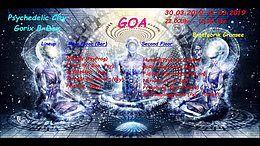 Party Flyer Psychedelic City - GoRix B-day 30 Mar '19, 22:00