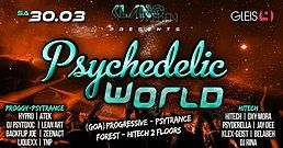 Party Flyer Psychedelic World 30 Mar '19, 23:00