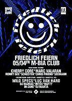 Party Flyer Friedlich Feiern 5 Apr '19, 23:30