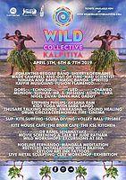 Party Flyer Wild Collective kalpitiya 5 Apr '19, 16:00