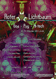 Party Flyer Roter Lichtbaum #2 6 Apr '19, 18:00
