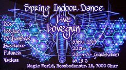 Party Flyer Spring Indoor Dace 6 Apr '19, 22:00