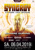 Party Flyer SYNERGY 6 Apr '19, 22:00