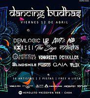 Party Flyer Dancing Budhas 12 Apr '19, 23:30