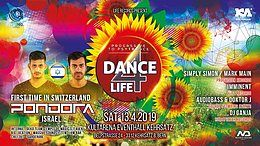 Party Flyer DANCE FOR LIFE / PONDORA 13 Apr '19, 21:00
