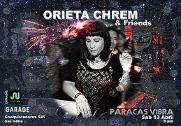 Party Flyer PARACAS VIBRA * LIMA VERSION* 13 Apr '19, 20:00
