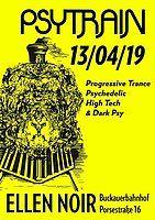 Party Flyer PSYTRAIN 13 Apr '19, 22:00