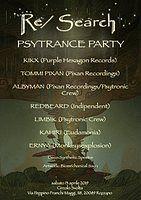 Party Flyer Re / Search - Psytronic Psytrance Party 13 Apr '19, 23:00