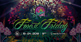 Party Flyer Psychedelic Gaff #14 Forest Friday w/ ANTONYMOUS 19 Apr '19, 21:00
