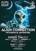 Party Flyer ALIEN CONNECTION (PSYCHEDELIC ADVENTURE) 20 Apr '19, 21:00