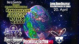 Party Flyer Psychedelic Eastern 2019 20 Apr '19, 22:00
