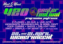 Party Flyer 420 Easter Festtival 21 Apr '19, 19:00