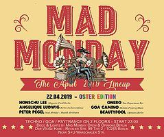 Party Flyer Mad Monday • Oster Edition! 22 Apr '19, 23:00