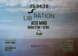 Party Flyer LIBRATION [BASIC Records Liberation Party] 25 Apr '19, 22:00