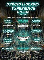 Party Flyer spring lisergic experience ( 2º aniversario Worldpsytrancekolective) 26 Apr '19, 23:30